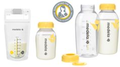 Medela breast milk collecting products